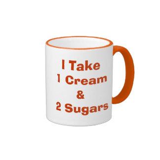 Cómo haga usted tiene gusto de su regalo del café  taza a dos colores