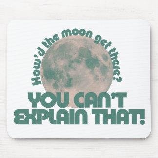 Cómo hizo la luna consiga allí tapete de ratones