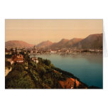 Como I, Lake Como, Lombardy, Italy Greeting Cards
