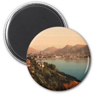 Como I, Lake Como, Lombardy, Italy 2 Inch Round Magnet