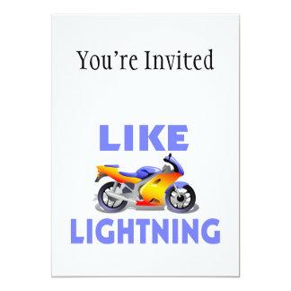 Como la bici de la calle de Lightining