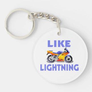 Como la bici de la calle de Lightining Llaveros