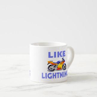 Como la bici de la calle de Lightining Taza Espresso