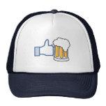Como la cerveza (color) gorras