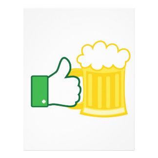Como la cerveza membretes personalizados
