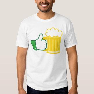 Como la cerveza poleras