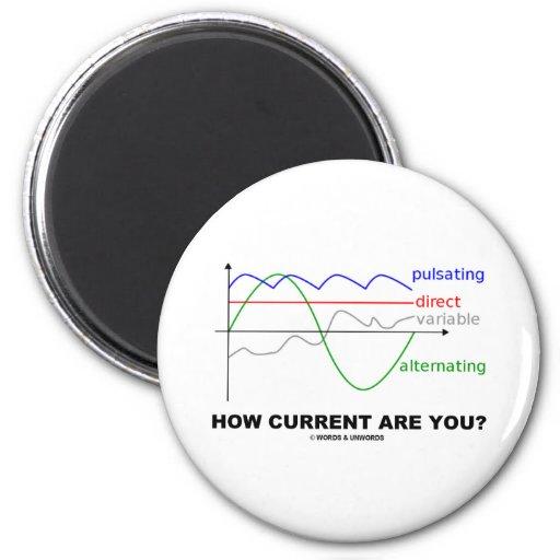 ¿Cómo la corriente es usted? (la diversa física de Imán De Frigorífico