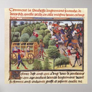 Cómo la duquesa de Aigremont dio a luz Póster