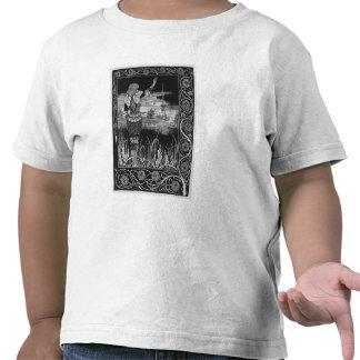 Cómo la espada Excalibur de sir Bedivere Cast Camiseta