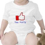 Como la fiesta del té trajes de bebé