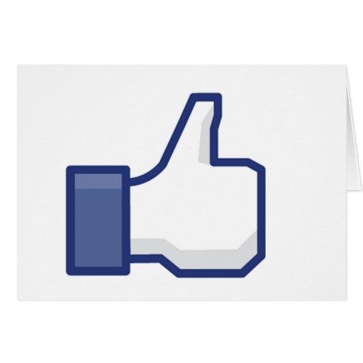 Como la mano - pulgares del FB para arriba Felicitaciones