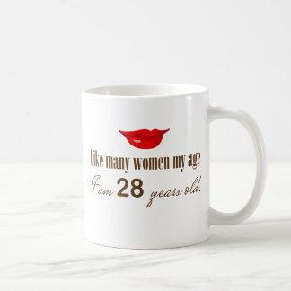 Como la mayoría de las mujeres mi edad - soy 28 taza