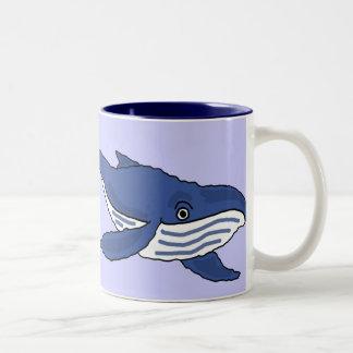 COMO la taza de la ballena azul o la taza de café