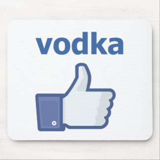 COMO la vodka Mousepad