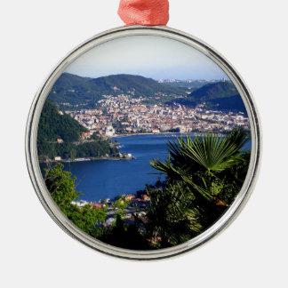 Como Lake 2 Metal Ornament