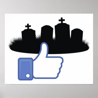 Como las lápidas mortuorias posters