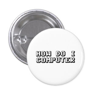 Cómo lo hace el ordenador de I Pin Redondo 2,5 Cm
