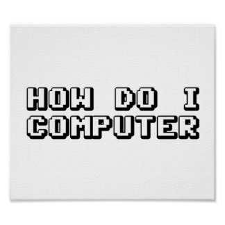 Cómo lo hace el ordenador de I Póster