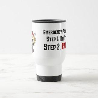 Cómo los bomberos responden a su emergencia taza térmica