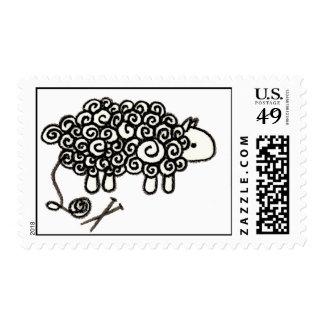 Cómo los calceteros ven sellos de las ovejas