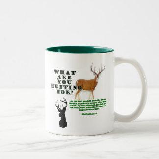 Como los ciervos taza