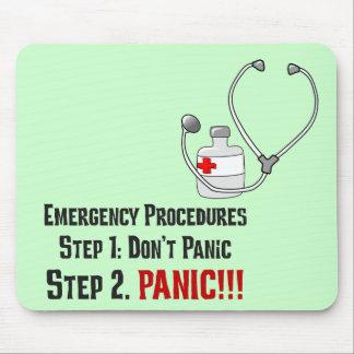 Cómo los doctores Respond a su emergencia Alfombrillas De Raton