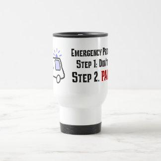 Cómo los paramédicos responden a su emergencia taza térmica