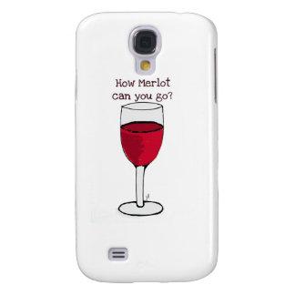 ¿CÓMO MERLOT PUEDE USTED IR? impresión del vino de Samsung Galaxy S4 Cover