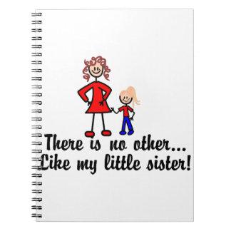 Como mi pequeña hermana cuaderno