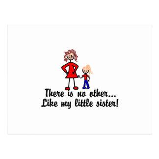 Como mi pequeña hermana postal