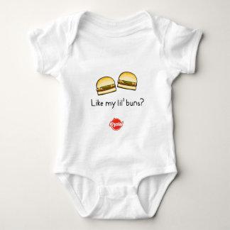 ¿Como mis bollos de Lil? Body Para Bebé