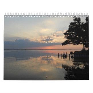 Cómo Niza Calendario De Pared