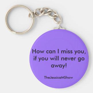 ¡Cómo puedo fáltele, si usted nunca sale! ,… Llavero Redondo Tipo Pin