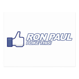 Como Ron Paul - voto 2012 del presidente de la ele Postal