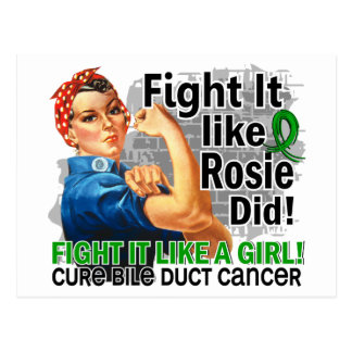 Como Rosie cure al cáncer hepático Postal