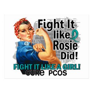 Como Rosie cure PCOS png Tarjetas Postales
