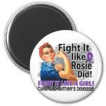 Como Rosie hizo a Alzheimer Iman De Frigorífico
