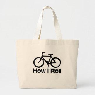 Cómo ruedo bolsa de mano