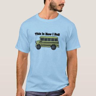 Cómo ruedo (el autobús escolar) playera