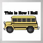 Cómo ruedo (el autobús escolar) poster