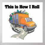Cómo ruedo (el camión de basura) poster