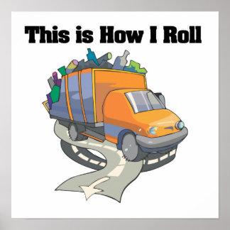 Cómo ruedo el camión de basura poster