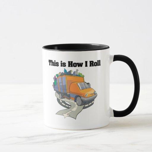 Cómo ruedo (el camión de basura) taza