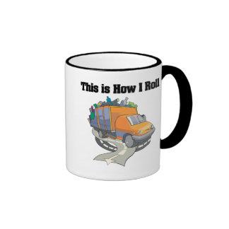 Cómo ruedo (el camión de basura) taza de café