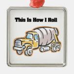Cómo ruedo (el camión del cemento) adornos