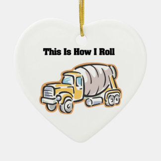 Cómo ruedo (el camión del cemento) adorno de reyes