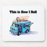 Cómo ruedo (el camión del helado) alfombrillas de ratón