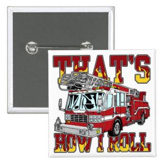 Cómo ruedo el coche de bomberos pin cuadrado