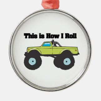 Cómo ruedo (el monster truck) ornamento de navidad
