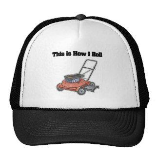Cómo ruedo (el motor del césped) gorro de camionero